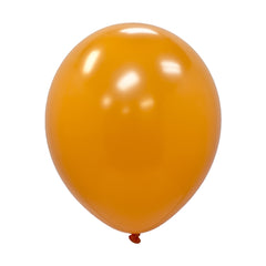 "Party Balloons, Solid Balloons, 12"" Solid Balloons, Colorful Balloons, Orange Balloons - Gift Expressions"