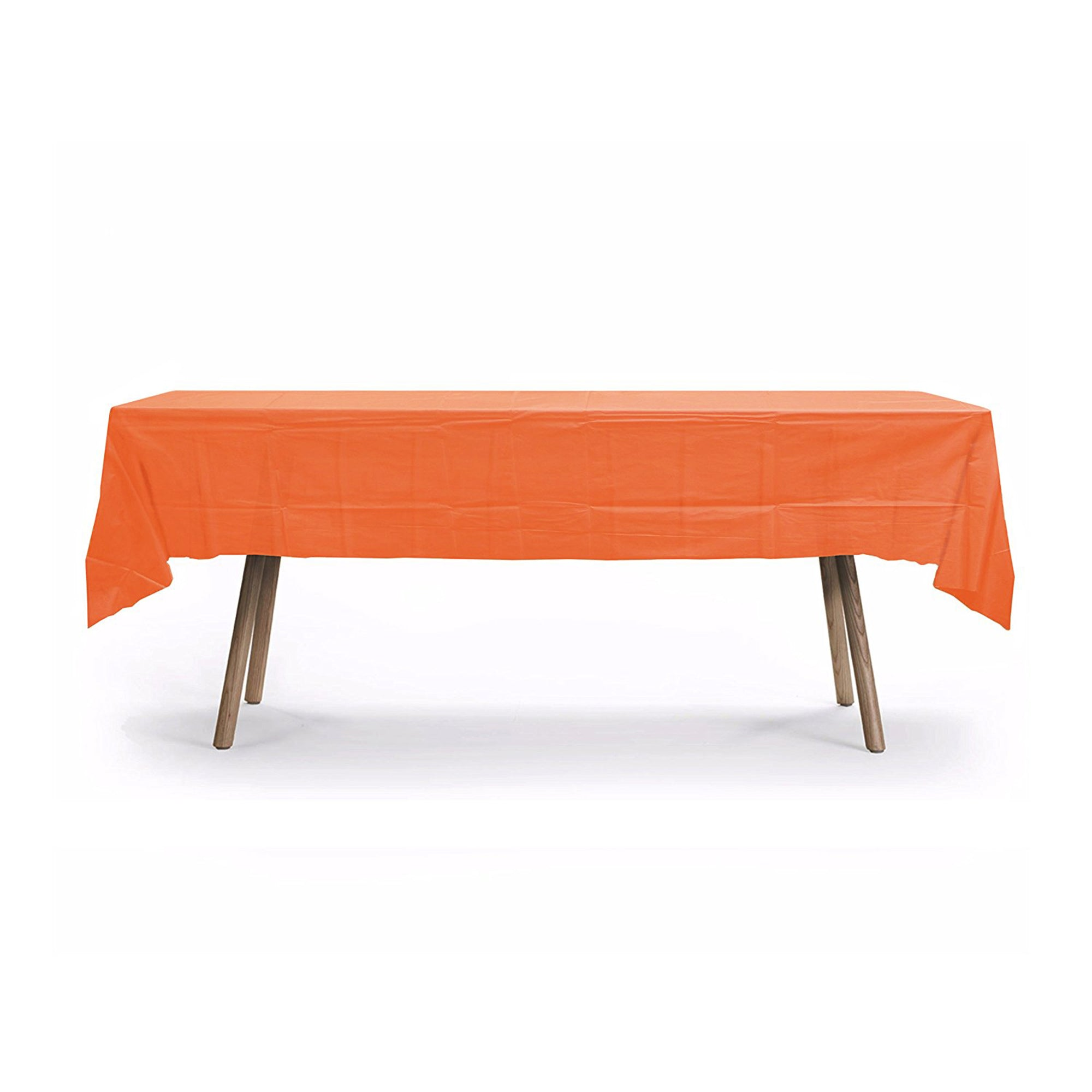 Heavy Duty Rectangular Table Cover [Orange]