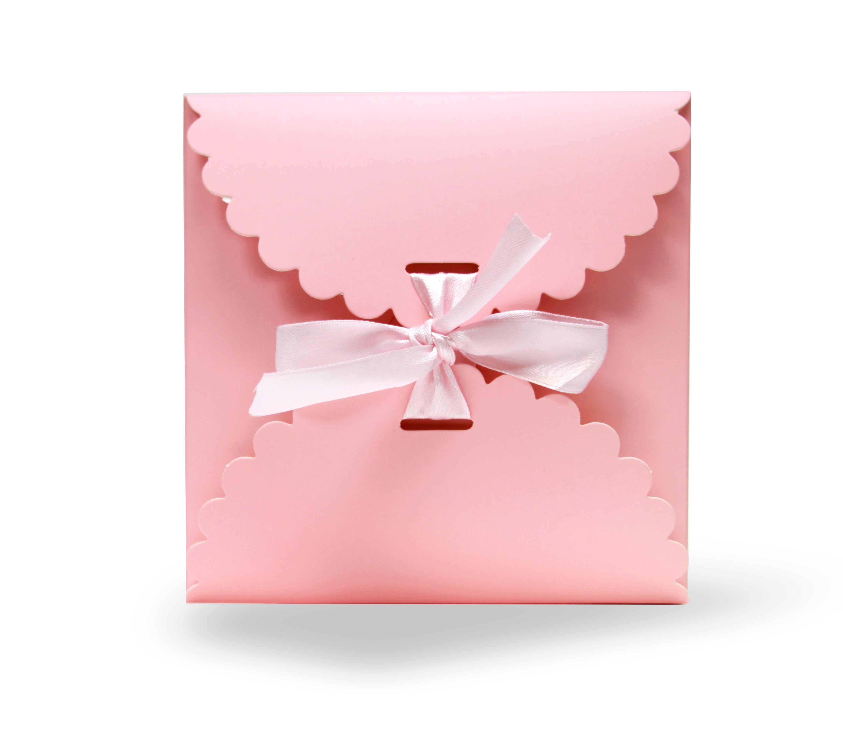 12 CT | Solid Color Decorative Treat Gift Boxes, Choose Color