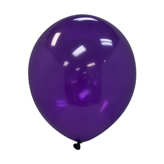 "Party Balloons, Solid Balloons, 12"" Solid Balloons, Colorful Balloons, Purple Balloons - Gift Expressions"