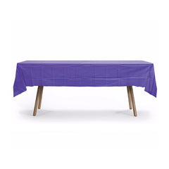 HEAVY DUTY PARTY PLASTIC TABLE COVERS