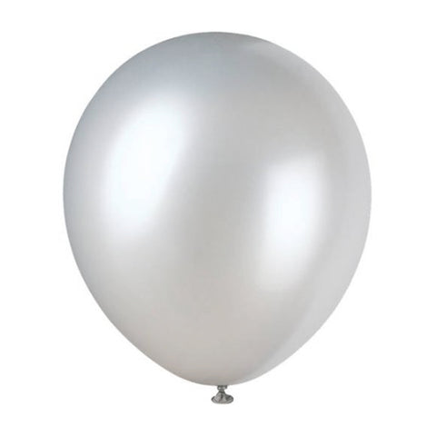 "72 Pack | 12"" Pearlized Latex Balloons"