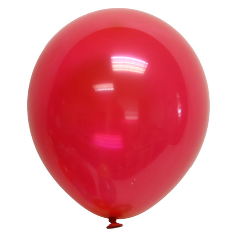 "Party Balloons, Solid Balloons, 12"" Solid Balloons, Colorful Balloons, Red Balloons - Gift Expressions"