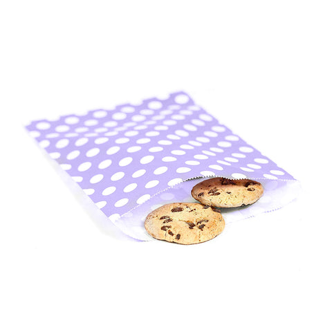 8 CT / 100 CT | Polka Dot Treat Bags