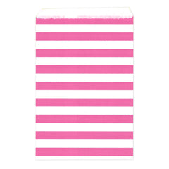 8 CT / 100 CT | Stripes Treat Bags