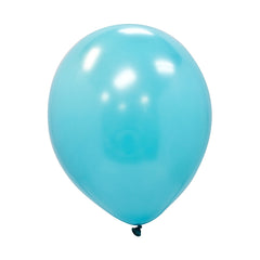 "Party Balloons, Solid Balloons, 12"" Solid Balloons, Colorful Balloons, Light Blue Balloons - Gift Expressions"