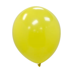 "Party Balloons, Solid Balloons, 12"" Solid Balloons, Colorful Balloons, Yellow Balloons - Gift Expressions"