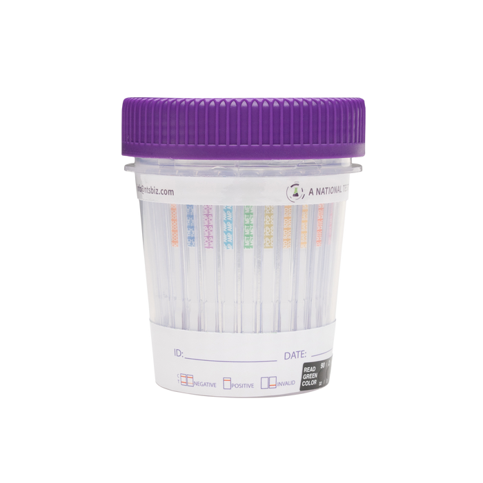 DrugSURE CLIA Waived 12 Panel Test Cup (B1201M) - (Box of 25) - Teststock.co