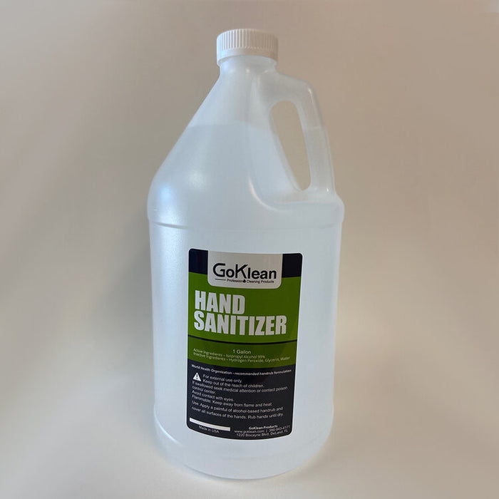 GoKlean Hand Sanitizer - One Gallon Jug - Teststock.co
