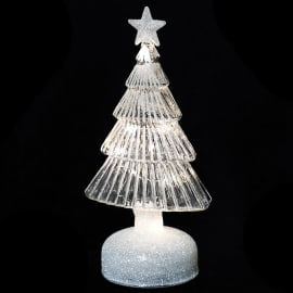 LED Glitter Tree with Star