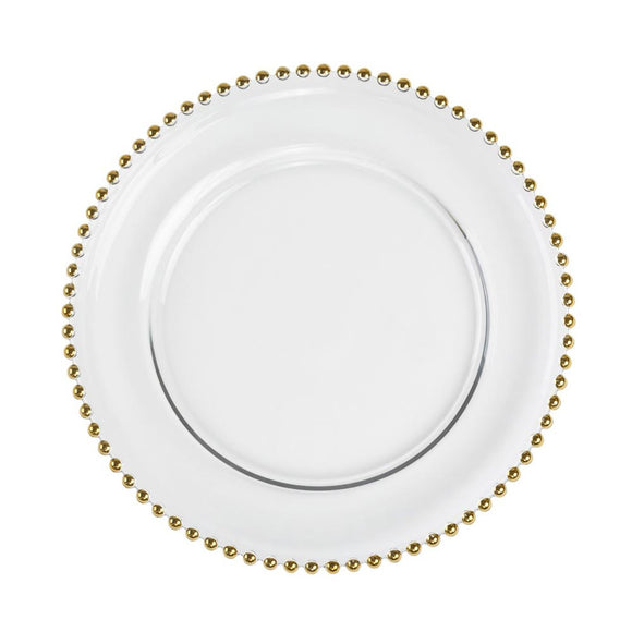Adaire Charger Plate/ Gold