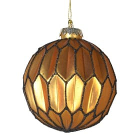 Round Honeycomb Bauble