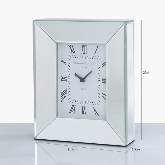 Mirror Table Clock