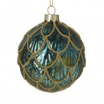Green  & gold bauble