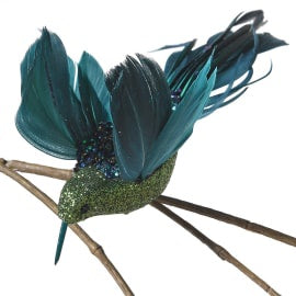 Green Glitter Humming Bird