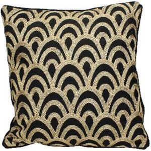Deco Scallop Cushion