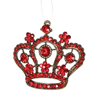 Red Crown Ornament