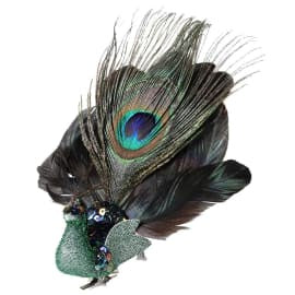 Clip On Peacock