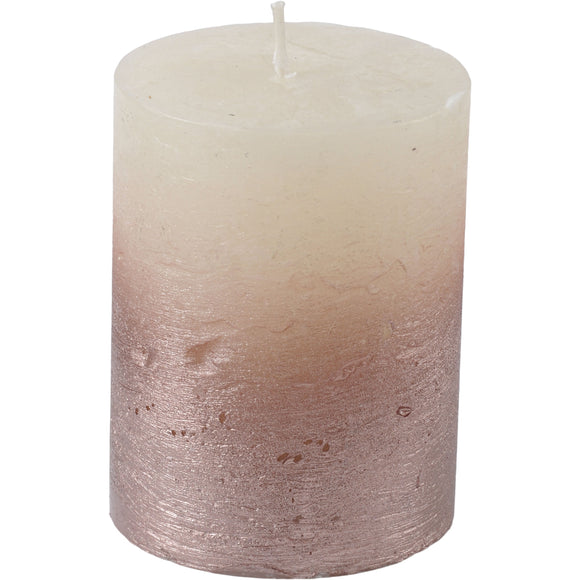 Pink Ombre Base Candle