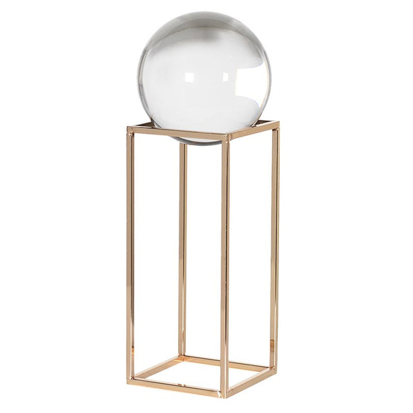 Everly Sphere on Stand