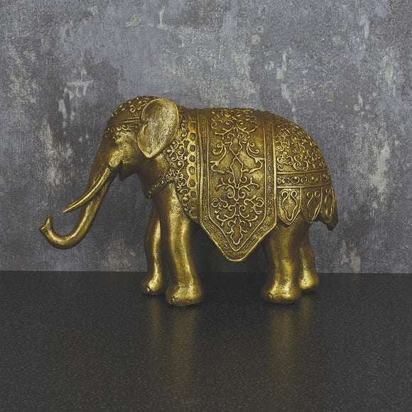 Antique Gold Elephant