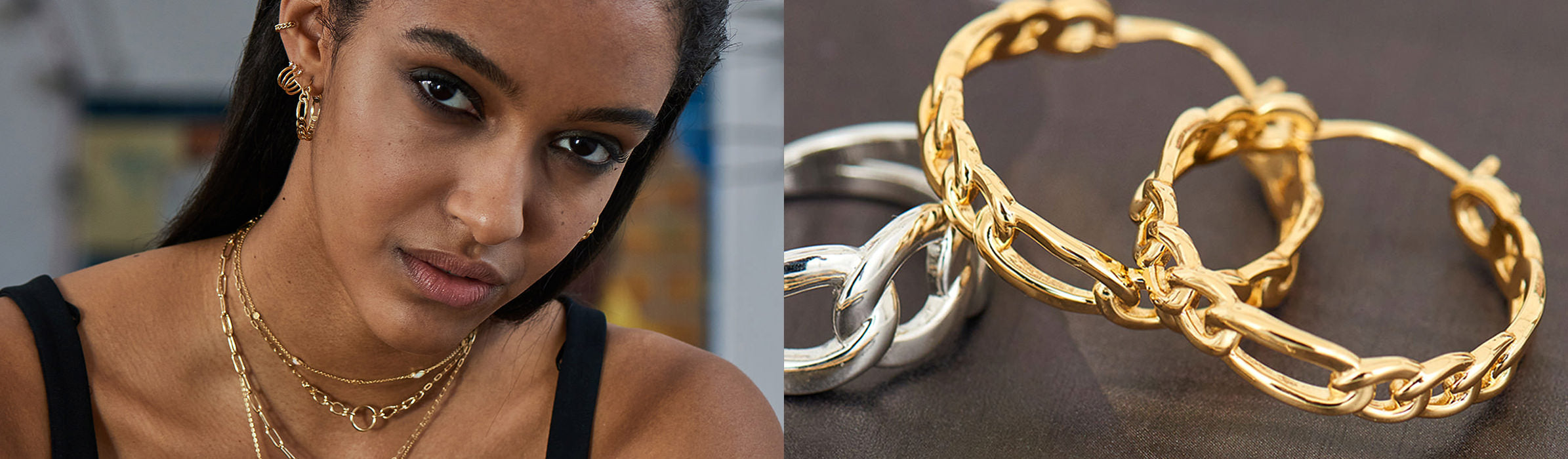 Chain Reactions Jewellery Collection by Ania Haie