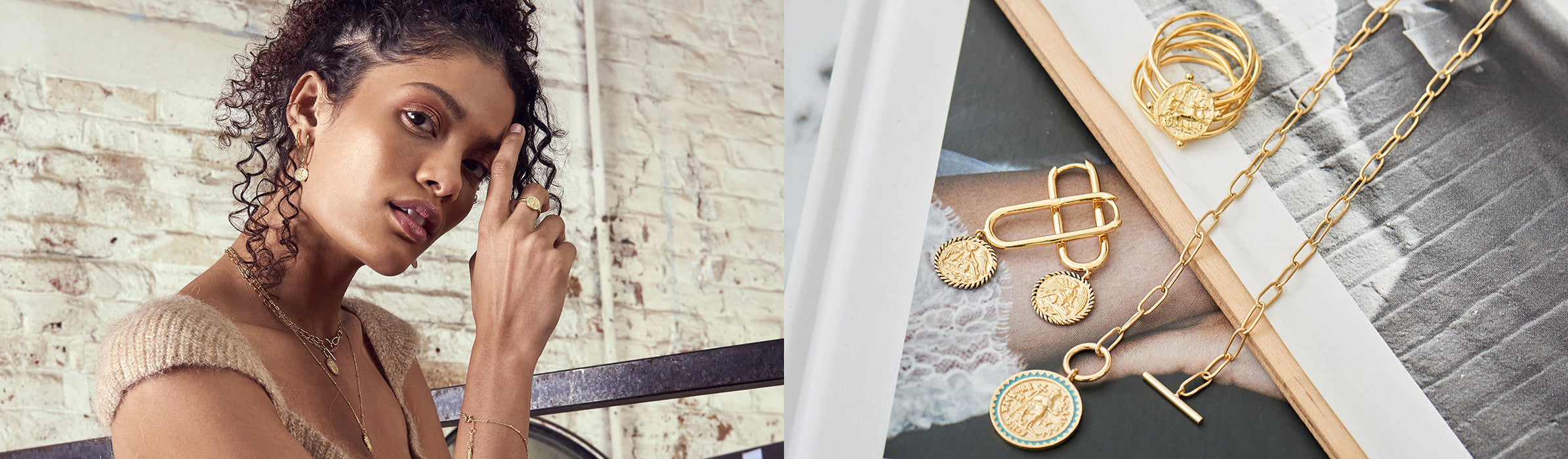 Gold Digger Jewellery by Ania Haie