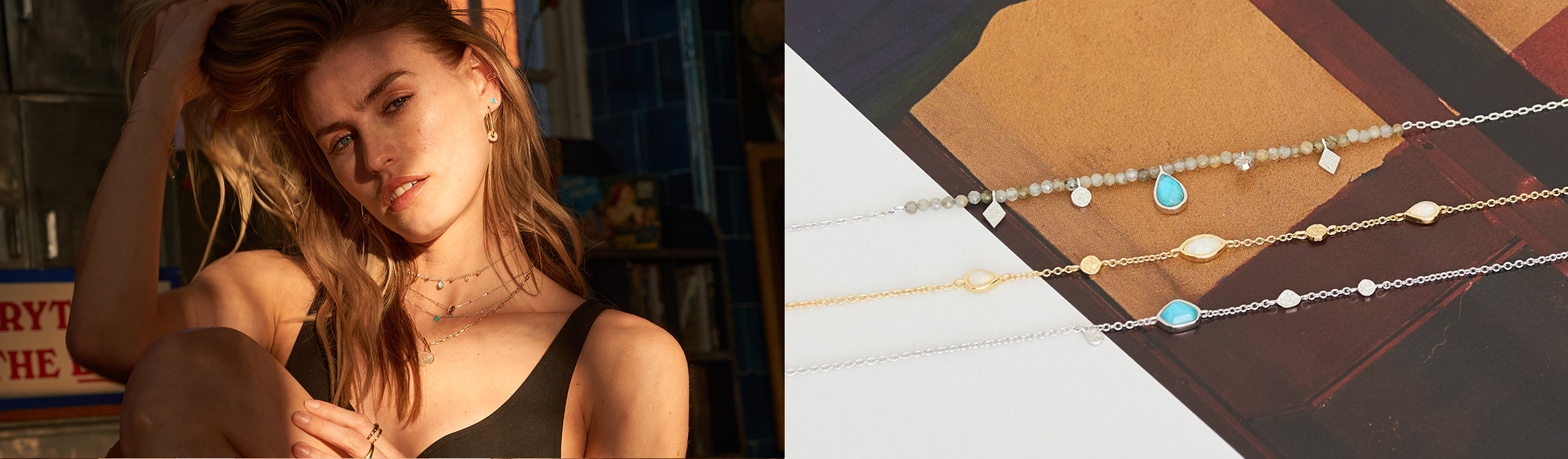 Mineral Glow Jewellery Collection by Ania Haie