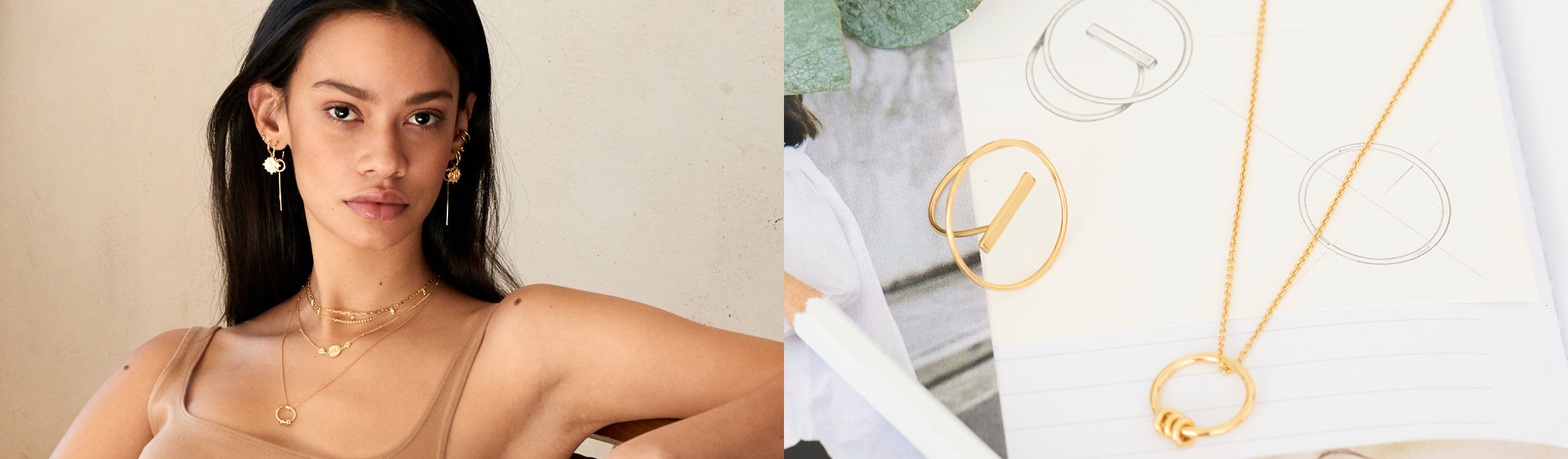 Modern Minimalism Jewellery Collection by Ania Haie