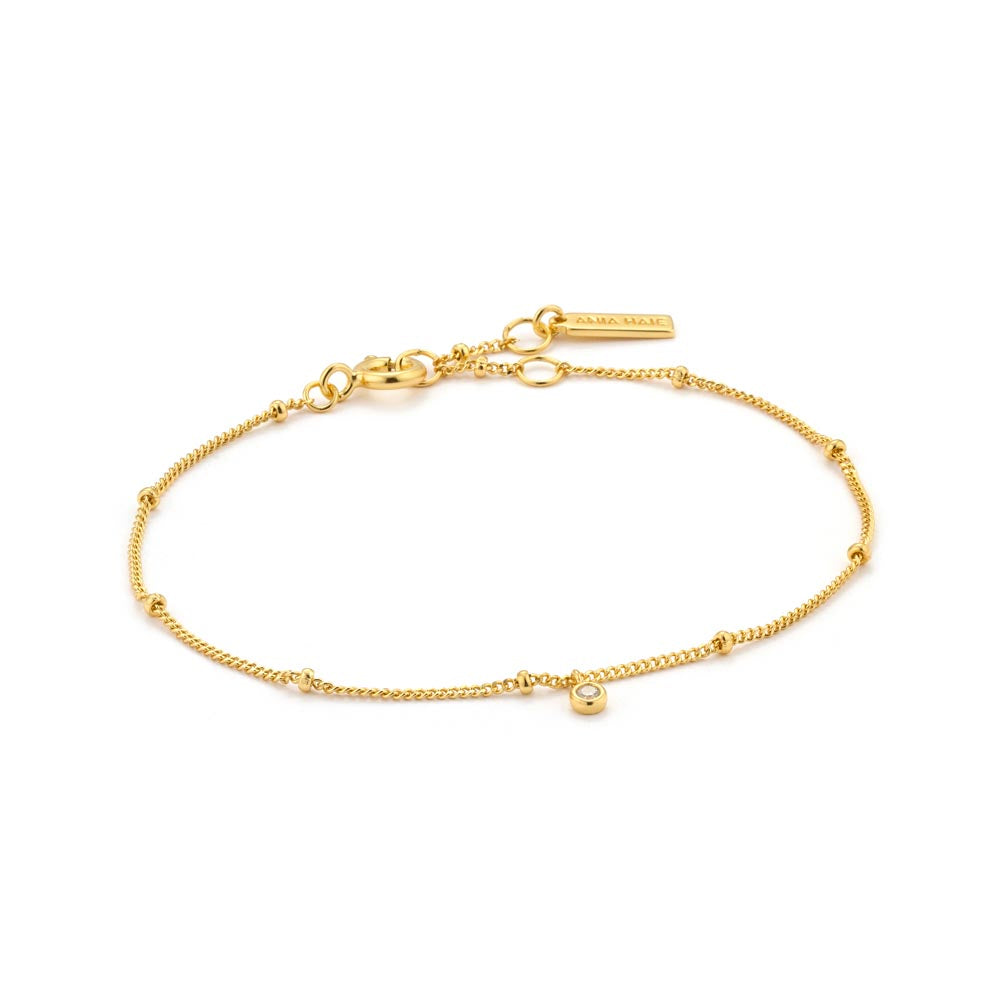 Shimmer Single Stud Bracelet - Ania Haie Jewellery