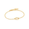 Twist Chain Circle Bracelet - Ania Haie Jewellery