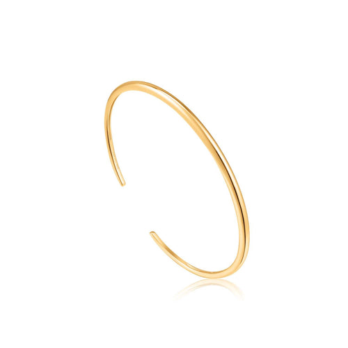 Bracelet: Gold Luxe Cuff by Ania Haie Australia