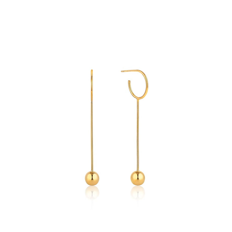 Orbit Solid Drop Earrings - Ania Haie Jewellery