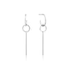 Earrings: Modern Solid Drop Earrings by Ania Haie Australia