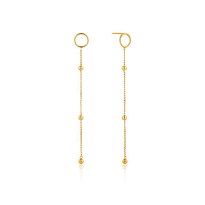Modern Beaded Drop Earrings - Ania Haie Jewellery
