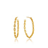 Chain Hoop Earrings - Ania Haie Jewellery