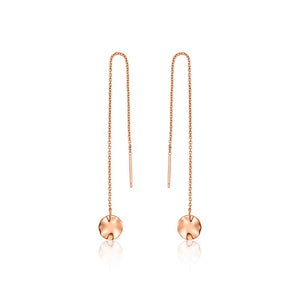 Ripple Threader Earrings - Ania Haie Jewellery