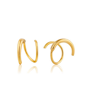 Twist Earrings - Ania Haie Jewellery