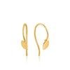 Earrings: Gold Hook Earrings by Ania Haie Australia