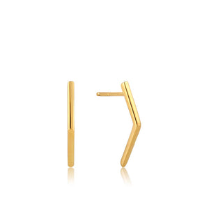 Bar Stud Earrings - Ania Haie Jewellery