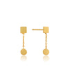 Two Shape Drop Earrings - Ania Haie Jewellery