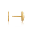 Semi-Circle Stud Earrings - Ania Haie Jewellery