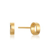 Open Circle Stud Earrings - Ania Haie Jewellery