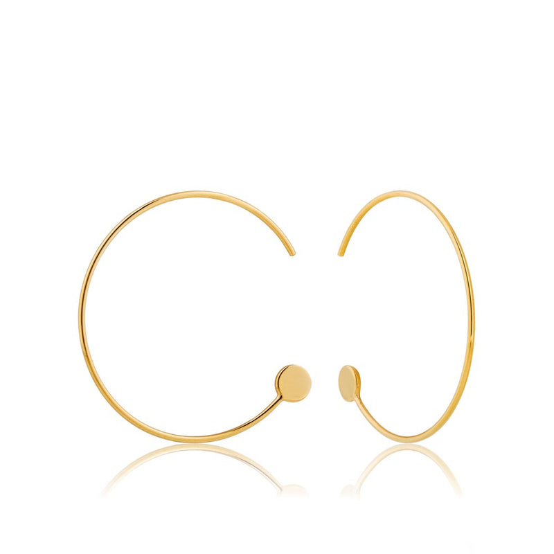 Open Hoop Earrings - Ania Haie Jewellery