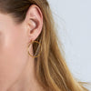 Front Hoop Earrings - Ania Haie Jewellery