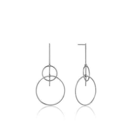 Earrings: Solid Drop Earrings by Ania Haie Australia