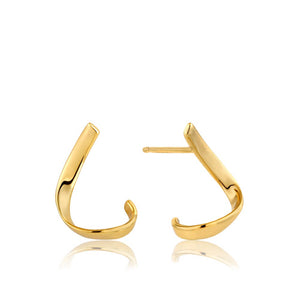 Twist Stud Earrings - Ania Haie Jewellery