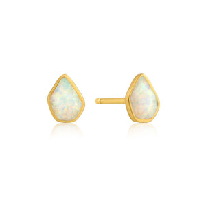 Opal Colour Stud Earrings - Ania Haie Jewellery