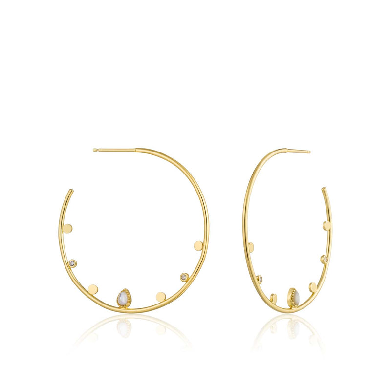 Dream Open Hoop Earrings - Ania Haie Jewellery