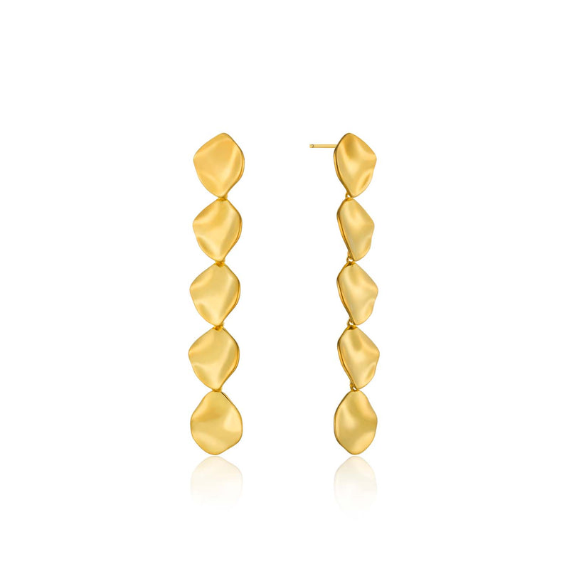 Crush Multiple Discs Rop Earrings - Ania Haie Jewellery